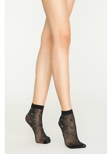 Penti Round Soket Çorap Siyah